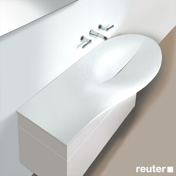 burg pli waschtisch amorph wei mwba120rc0001 reuter onlineshop. Black Bedroom Furniture Sets. Home Design Ideas