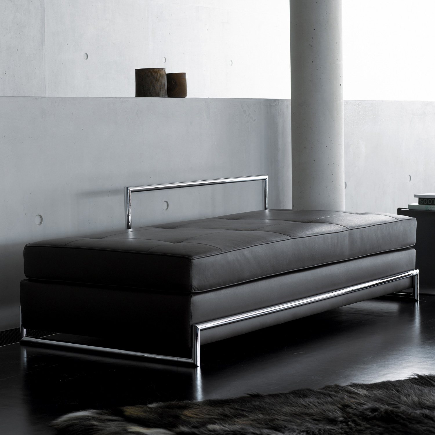classicon day bed liegesofa echtleder 107day01 01 reuter onlineshop. Black Bedroom Furniture Sets. Home Design Ideas