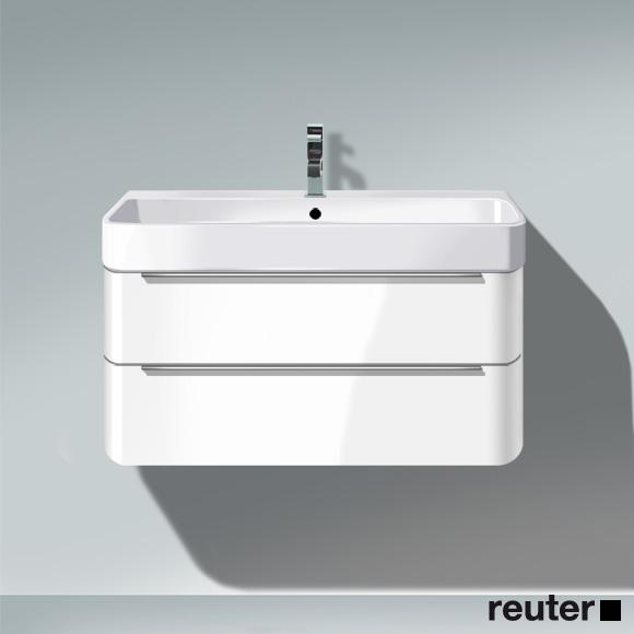 duravit happy d 2 waschtischunterbau wandh ngend t 48 cm. Black Bedroom Furniture Sets. Home Design Ideas