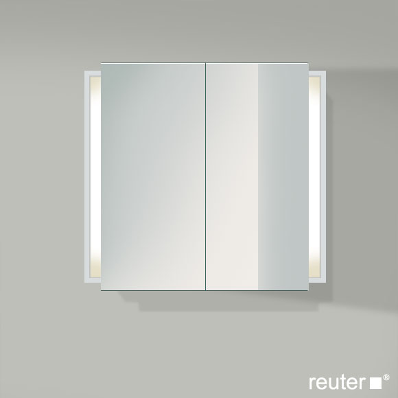 duravit ketho spiegelschrank mit beleuchtung weiss matt kt753101818 reuter onlineshop. Black Bedroom Furniture Sets. Home Design Ideas