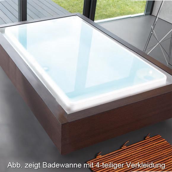 duscholux caprivi free rechteck badewanne mit. Black Bedroom Furniture Sets. Home Design Ideas