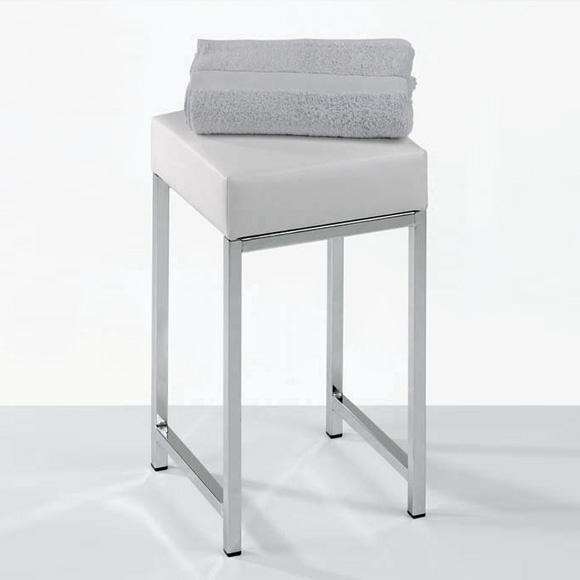 decor walther badhocker chrom wei 0502804 reuter. Black Bedroom Furniture Sets. Home Design Ideas