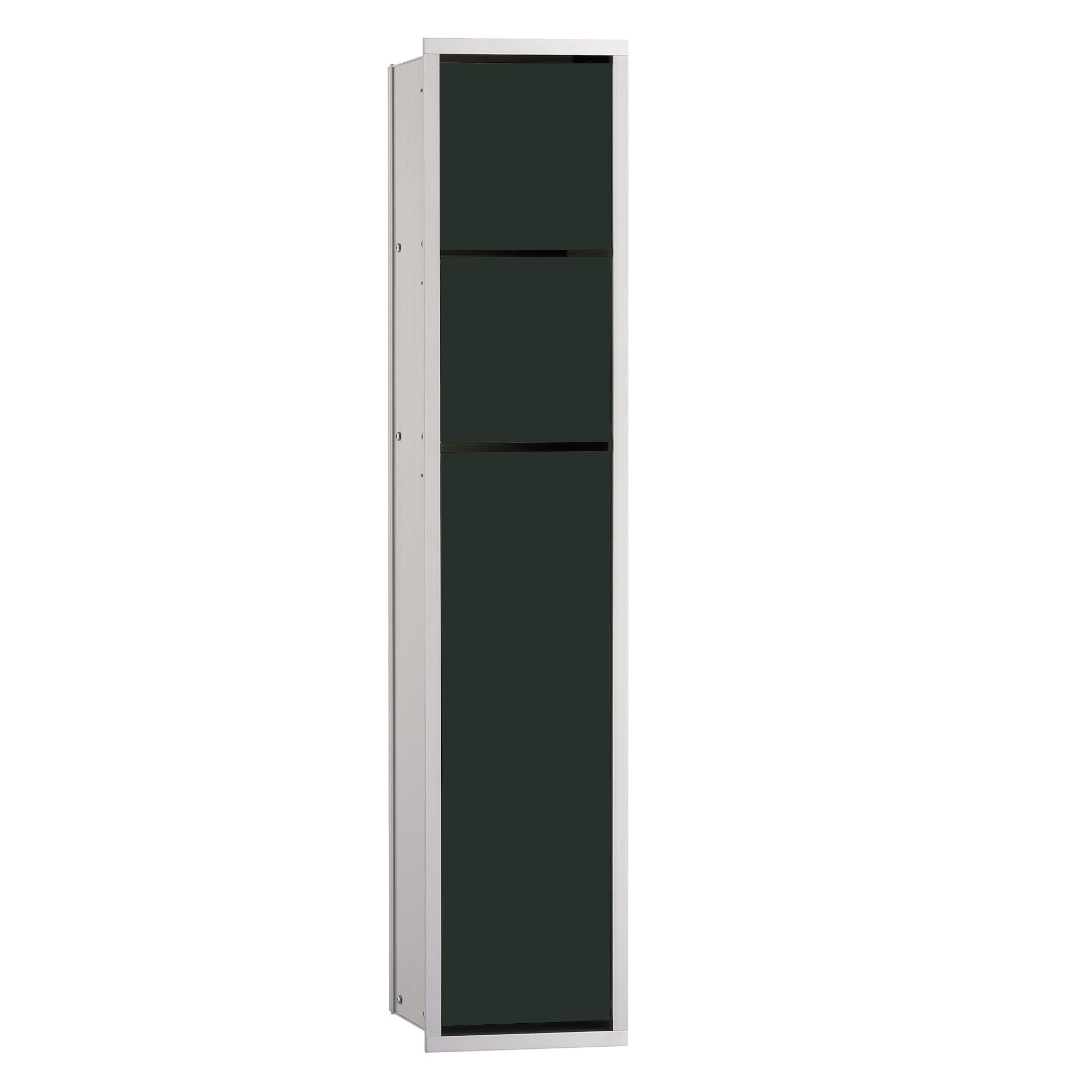 emco asis unterputz wc modul schwarz aluminium 975027550. Black Bedroom Furniture Sets. Home Design Ideas