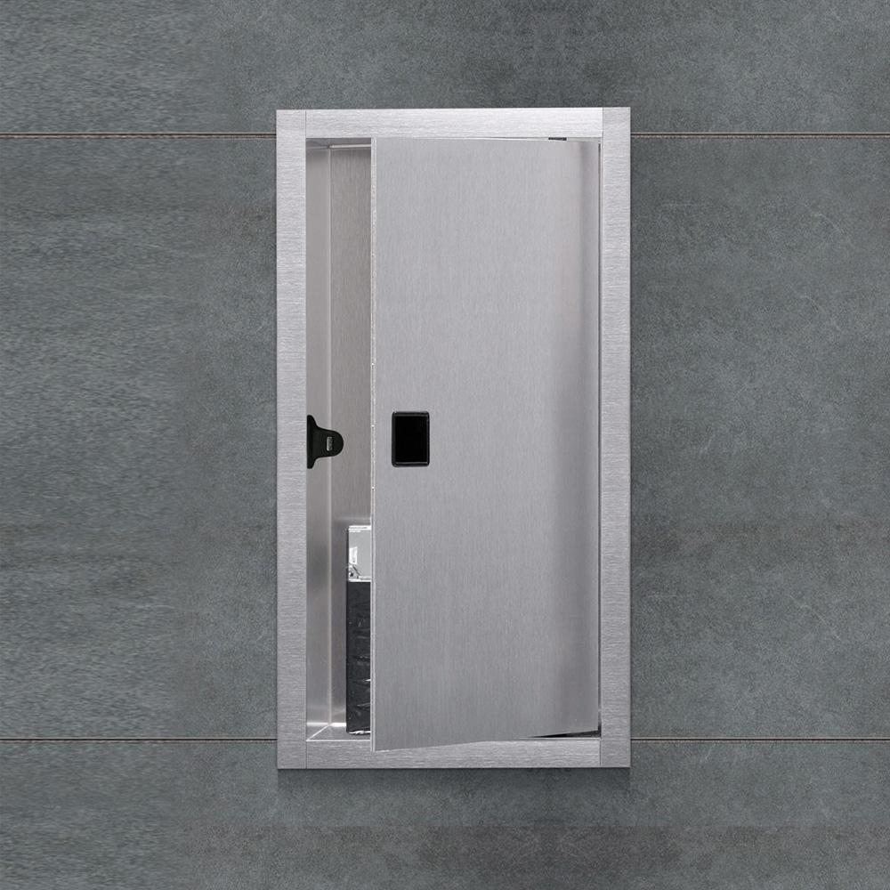 ess container box 10 wandnische mit t r f r nass und. Black Bedroom Furniture Sets. Home Design Ideas