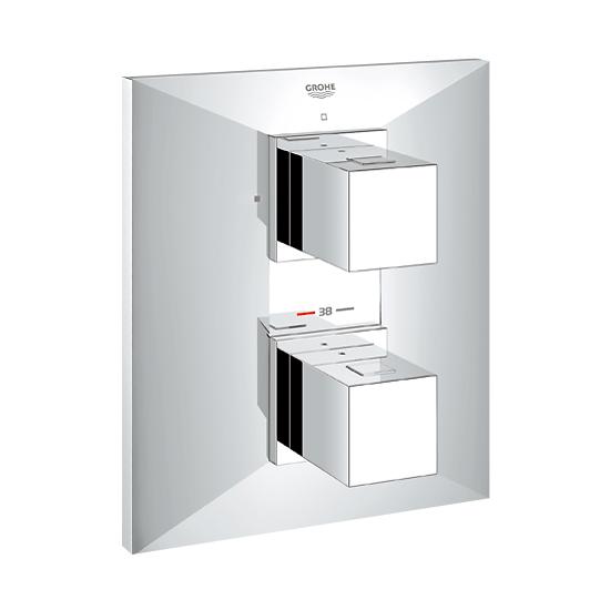 grohe allure brilliant up thermostat brausebatterie 19791000 reuter onlineshop. Black Bedroom Furniture Sets. Home Design Ideas