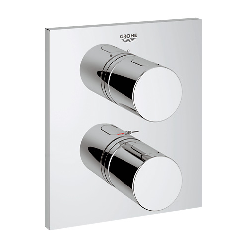 grohe grohtherm 3000 cosmopolitan thermostat brausebatterie chrom 19568000 reuter onlineshop. Black Bedroom Furniture Sets. Home Design Ideas