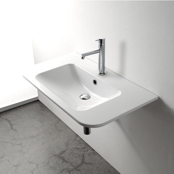 globo stone waschtisch b 85 t 48 cm ssn14bi reuter. Black Bedroom Furniture Sets. Home Design Ideas