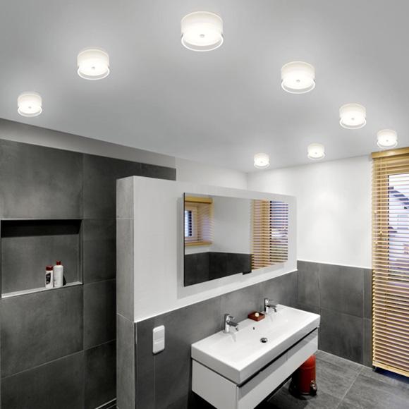 helestra yuma led deckenleuchte wandleuchte 18. Black Bedroom Furniture Sets. Home Design Ideas