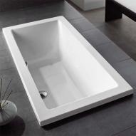 Hoesch SCELTA Rechteck Badewanne weiß