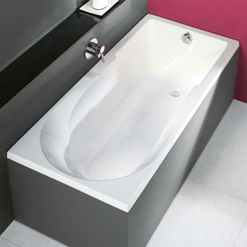 hoesch spectra rechteck badewanne wei reuter onlineshop. Black Bedroom Furniture Sets. Home Design Ideas
