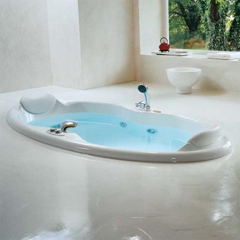 jacuzzi elipsa einbau whirlpool 210 x 100 x 57 cm mit. Black Bedroom Furniture Sets. Home Design Ideas
