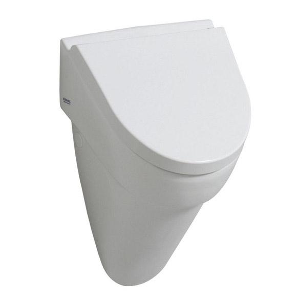 keramag flow urinal b 36 h 56 5 t 34 cm wei mit keratect 235920600 reuter onlineshop. Black Bedroom Furniture Sets. Home Design Ideas
