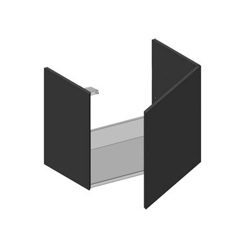 keuco edition 300 waschtischunterbau mit 1 t r wei. Black Bedroom Furniture Sets. Home Design Ideas
