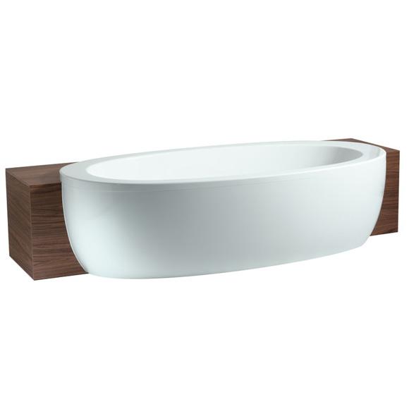 laufen alessi one oval badewanne halbeinbau version inkl sch rze 2449700000001 reuter. Black Bedroom Furniture Sets. Home Design Ideas