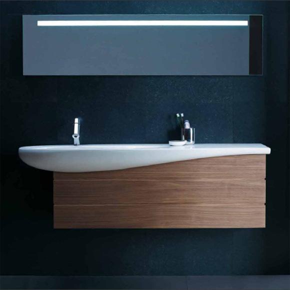 laufen alessi one waschtischunterbau 2 schubladen noce canaletto 4243600976301 reuter. Black Bedroom Furniture Sets. Home Design Ideas