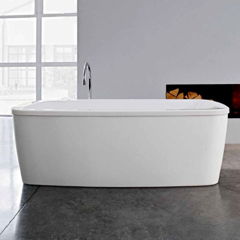 laufen palomba freistehende ovale badewanne wei. Black Bedroom Furniture Sets. Home Design Ideas