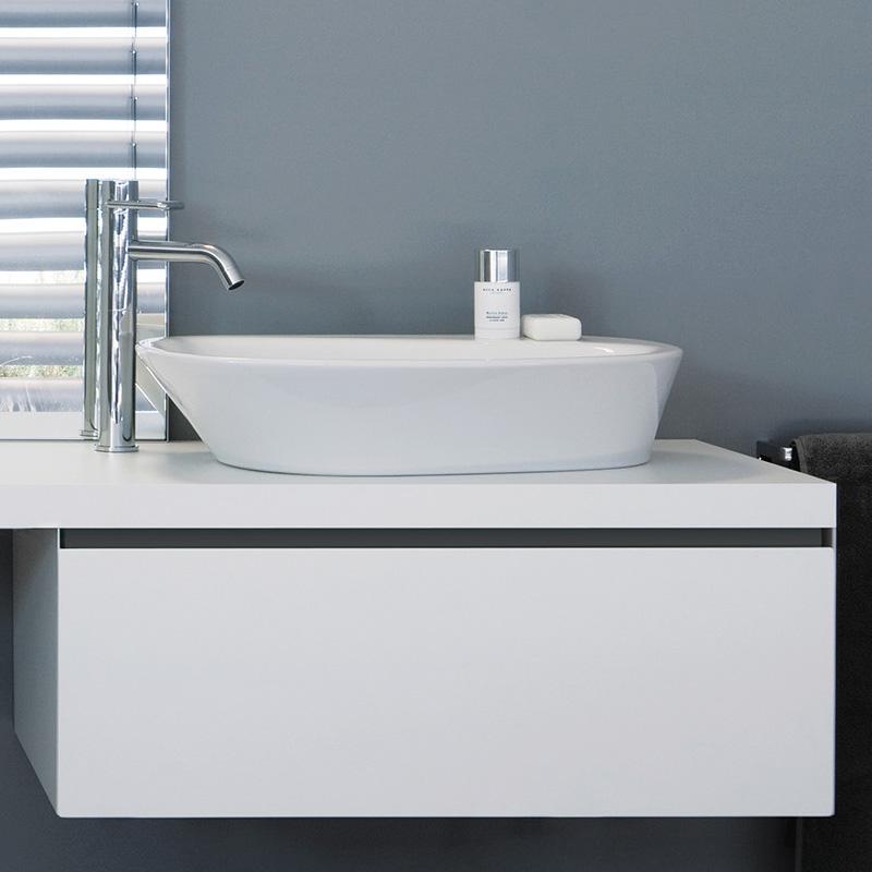 laufen palomba waschtisch schale wei mit berlauf ohne. Black Bedroom Furniture Sets. Home Design Ideas