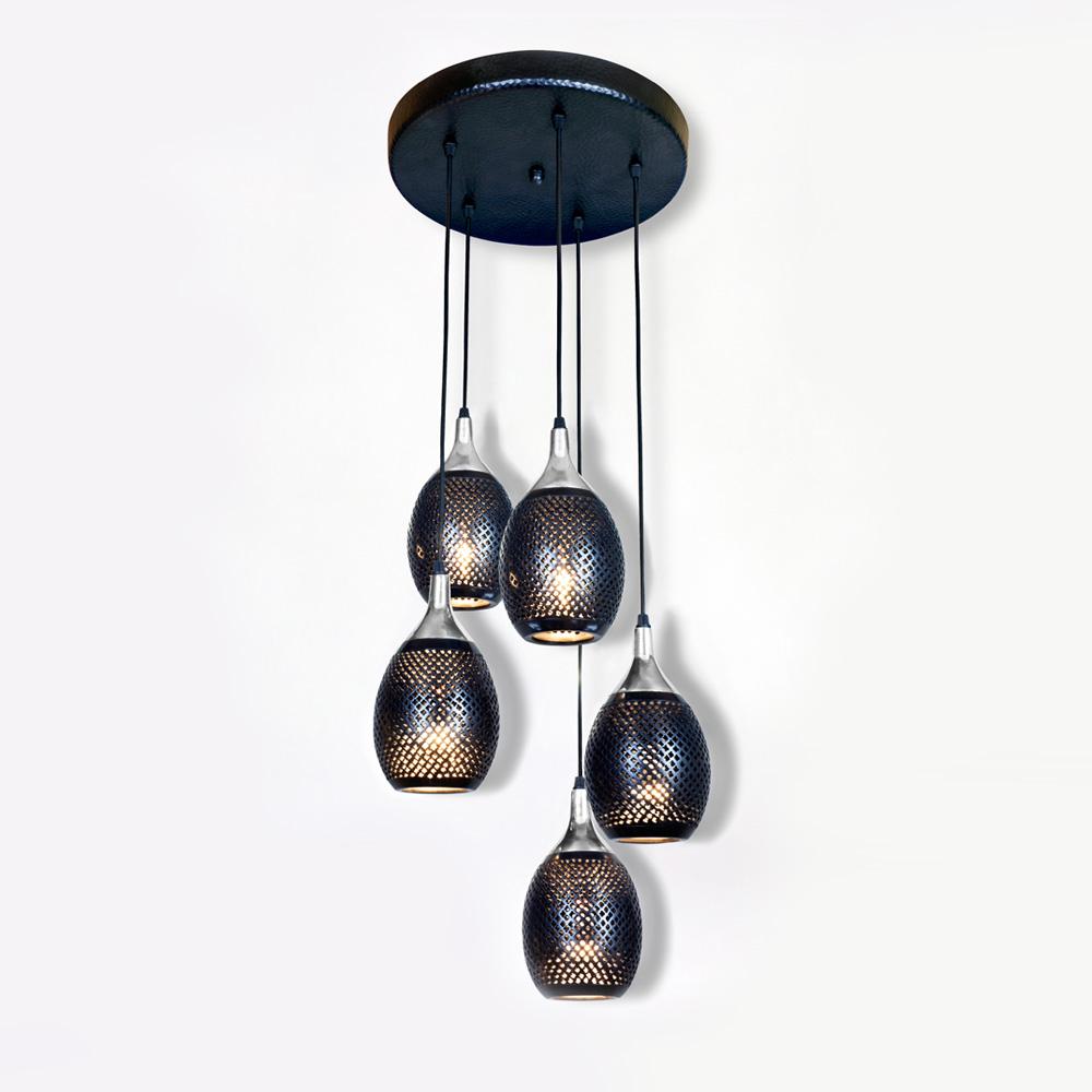 lambert fadi pendelleuchte 5 flammig 47165 reuter onlineshop. Black Bedroom Furniture Sets. Home Design Ideas