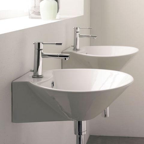 scarabeo cono r waschtisch wei 8010r reuter onlineshop. Black Bedroom Furniture Sets. Home Design Ideas