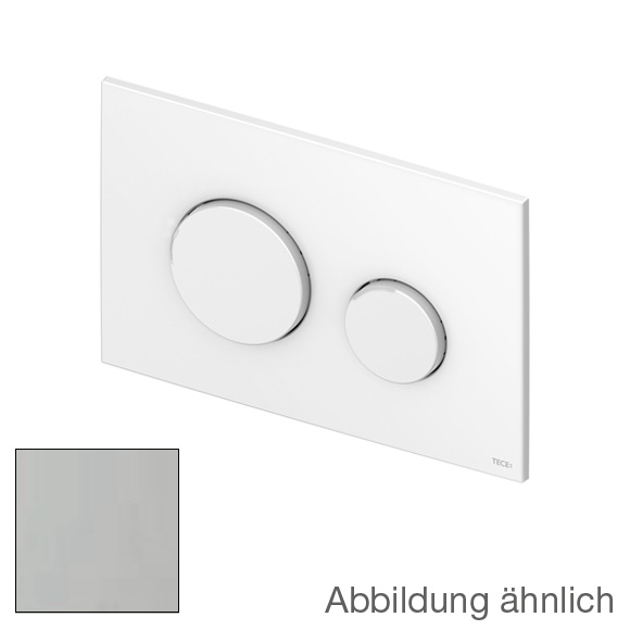 tece loop wc bet tigungsplatte f r 2 mengen technik aus kunststoff chrom matt 9240625 reuter. Black Bedroom Furniture Sets. Home Design Ideas