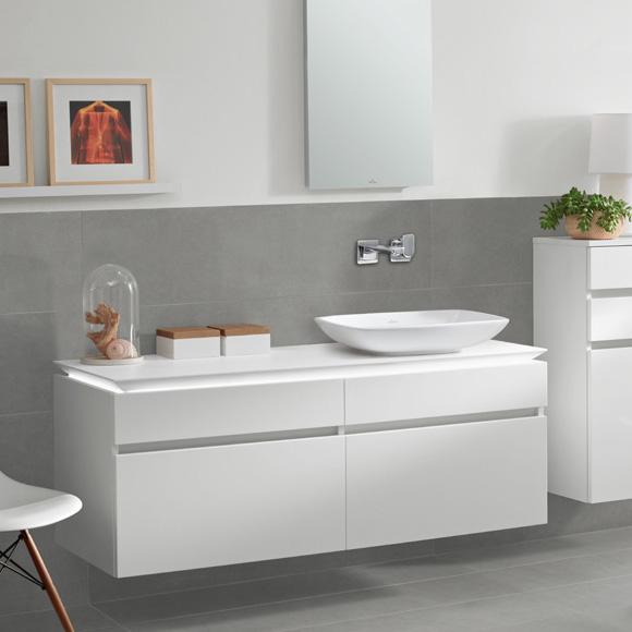 villeroy boch legato led waschtischunterschrank glossy white b131l0dh reuter onlineshop. Black Bedroom Furniture Sets. Home Design Ideas