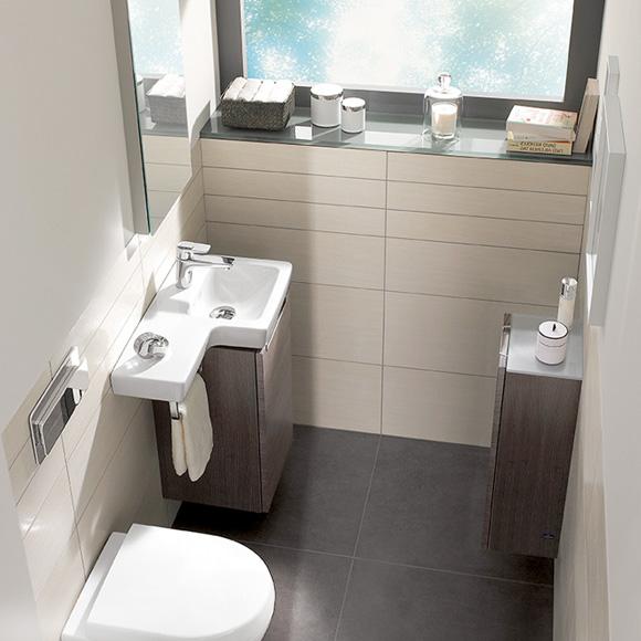 villeroy boch subway 2 0 handwaschbecken unterschrank mit 1 t r eiche graphit a81711fq. Black Bedroom Furniture Sets. Home Design Ideas