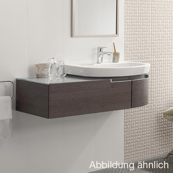villeroy boch subway 2 0 waschtischunterschrank mit 1 auszug und 1 t r terra matt. Black Bedroom Furniture Sets. Home Design Ideas